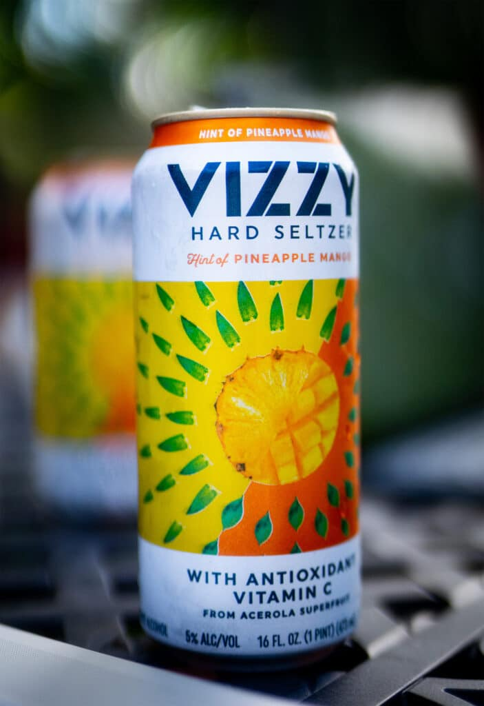 Vizzy taste test pineapple mango