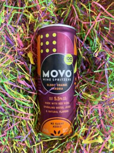 MOVO wine spritzer blood orange sangria
