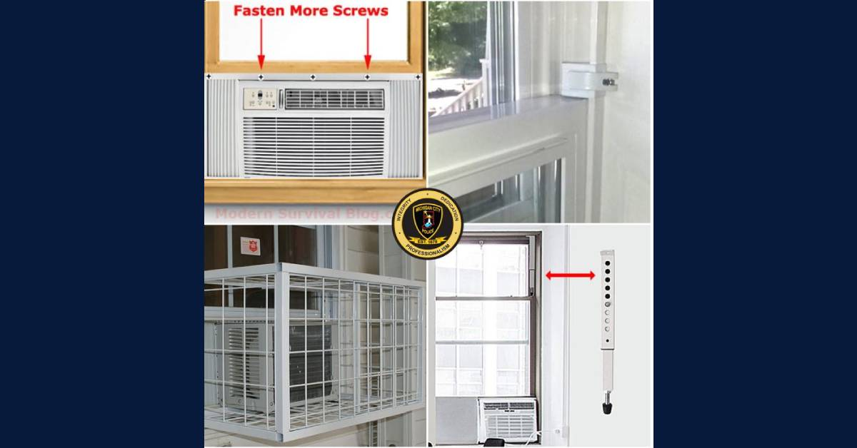 Window A/C Security: How to keep your house and family safe