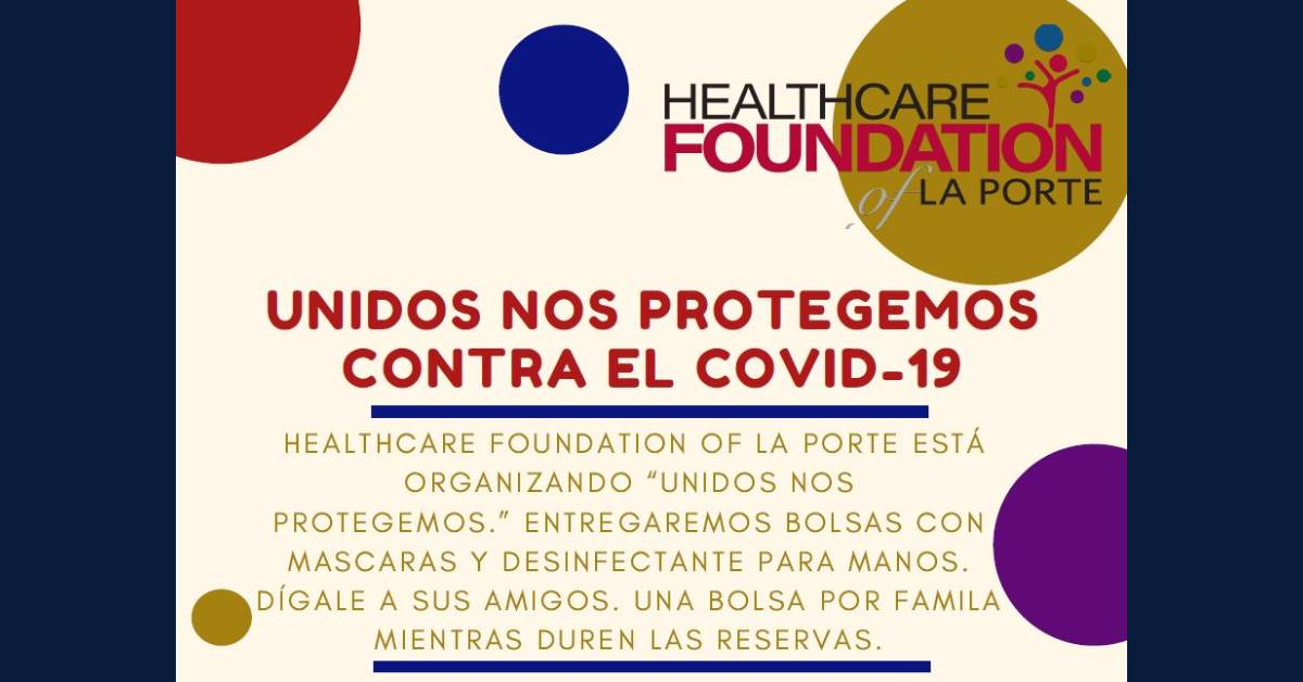 Hispanic community welcomed to special Covid-19 drive-through event in La Porte