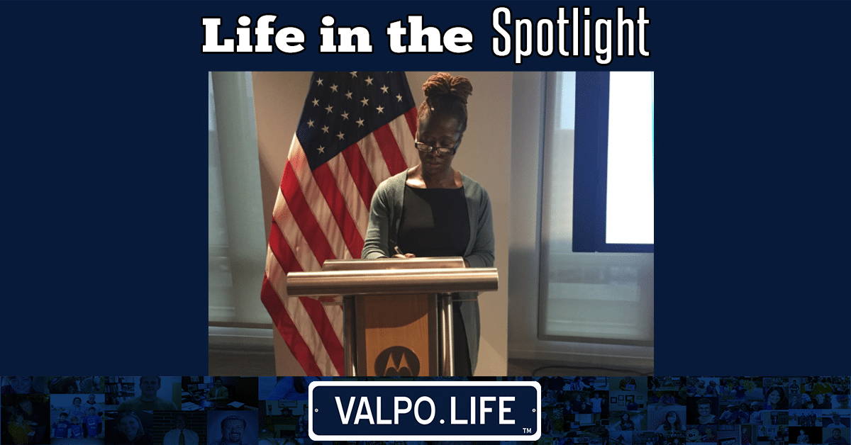 A Valpo Life in the Spotlight: Charita Lucas