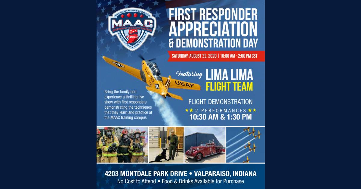 GIS, MAAC organize first responders event