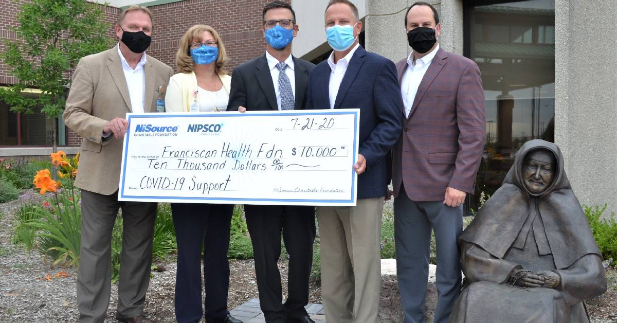 NIPSCO bolsters Franciscan Health's efforts to fight COVID-19