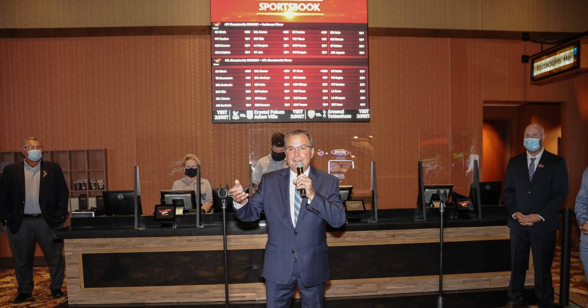 Sportsbook betting now open at Four Winds Casinos