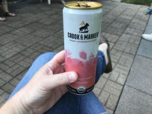 Crook & marker taste test strawberry lemon
