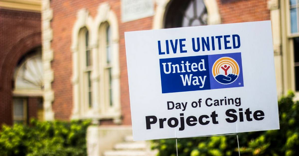 United Way of Porter County Virtual Day of Caring event  beginning August 7