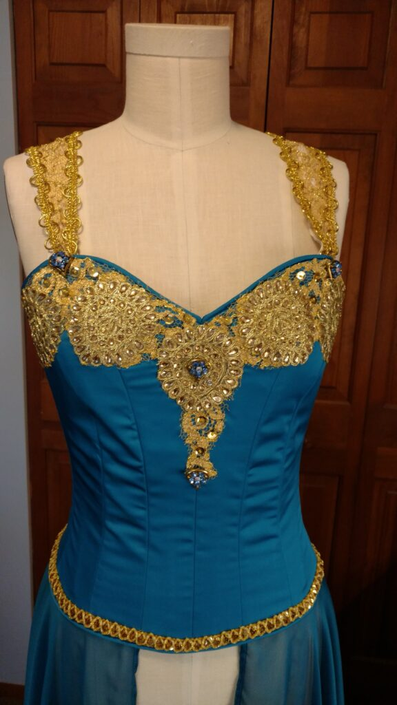 VU dress bodice