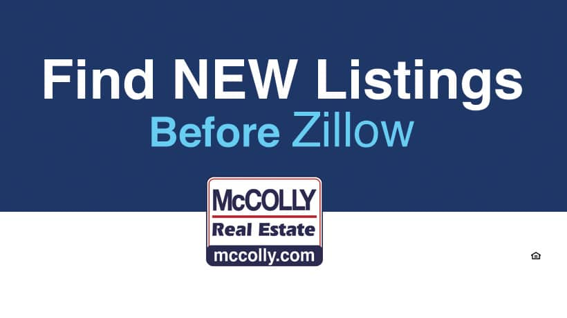 McColly Exclusives features new listings before they hit the market
