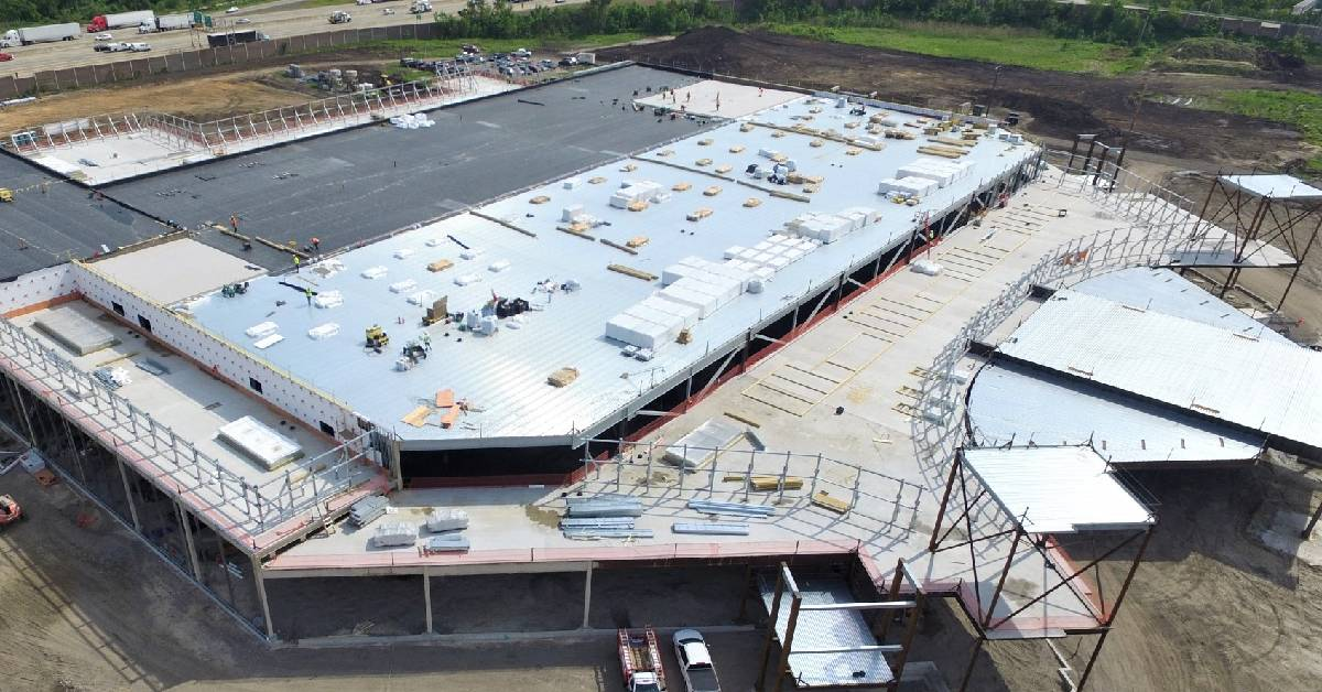 Korellis Roofing's leads the way on $300 Million Hard Rock Casino construction