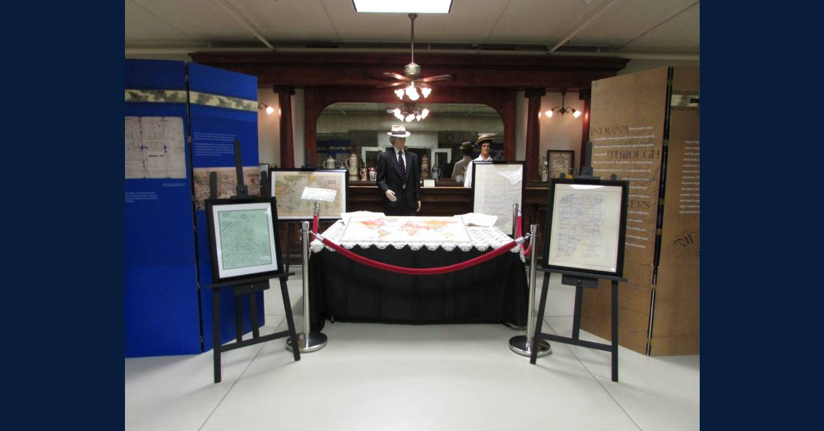 La Porte County Historical Society announces new exhibit: Indiana Through the Mapmaker's Eye