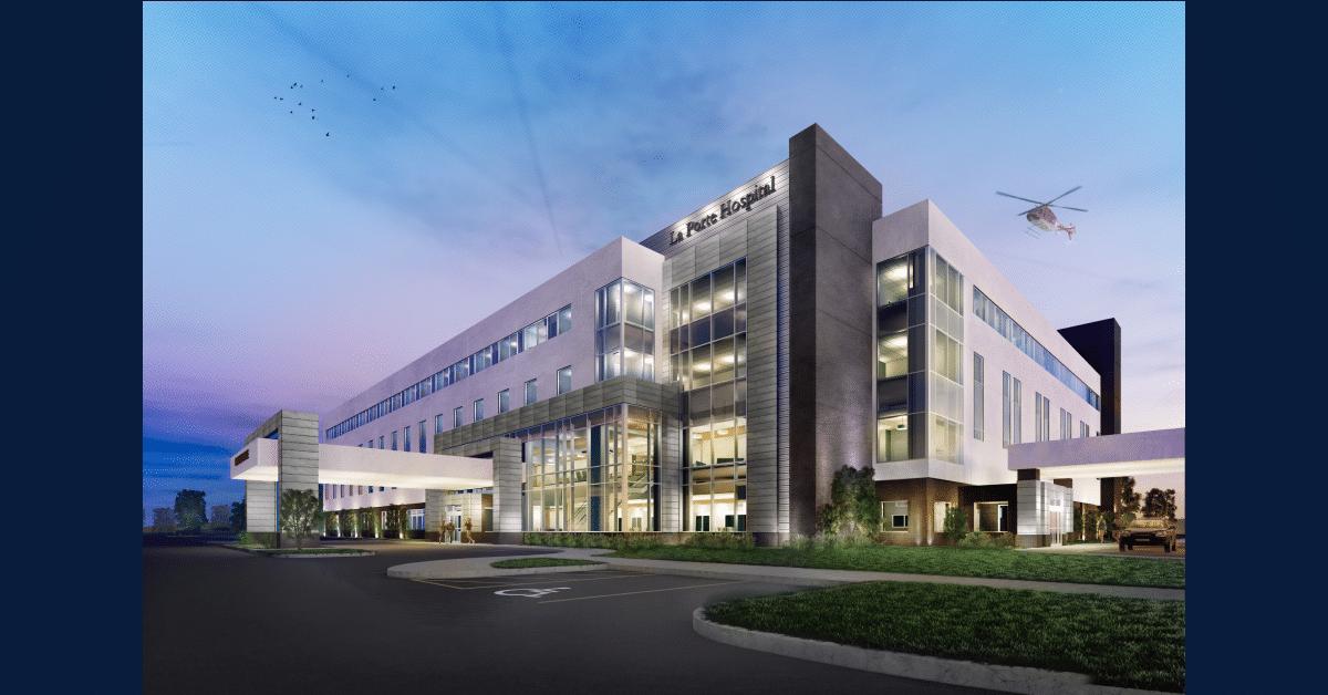 Growing green – responsible hospital design for the new La Porte Hospital
