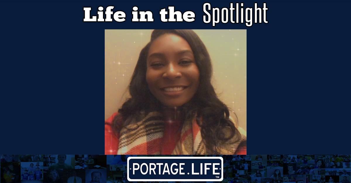 A Portage Life in the Spotlight: Teaundra Smith