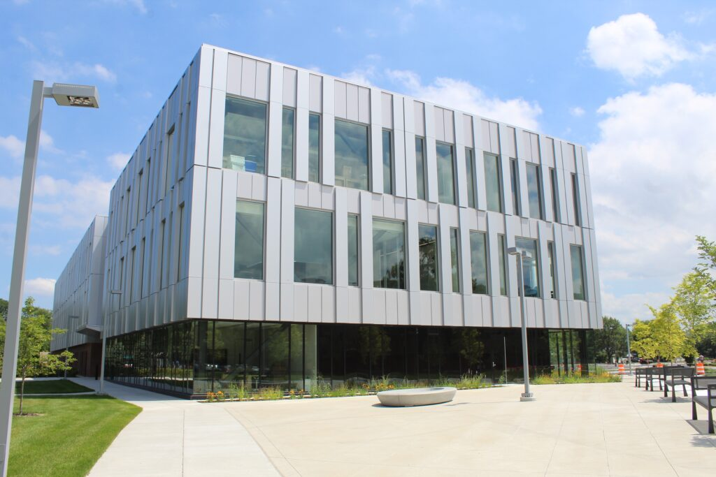 PNW bioscience building outside view