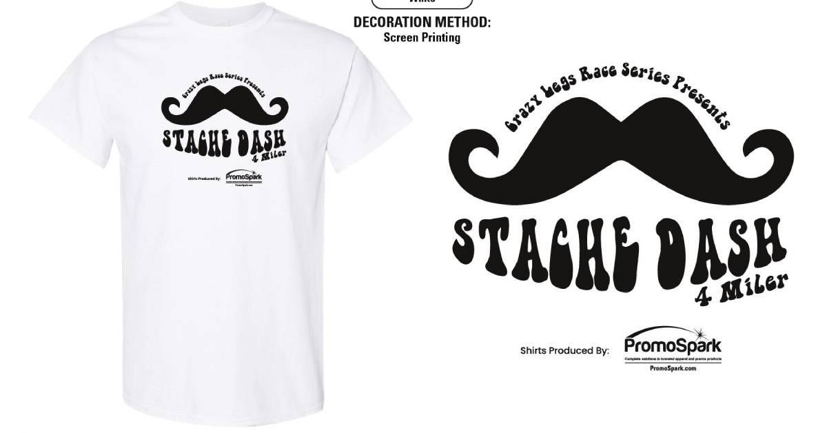Stache Dash 4 Miler Sept 6th