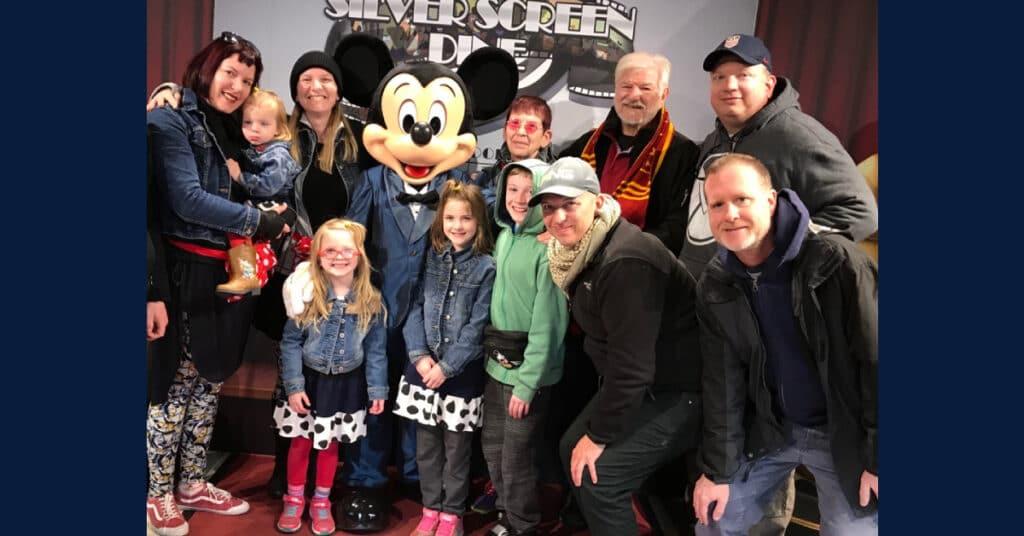 Schwerd family at Disney