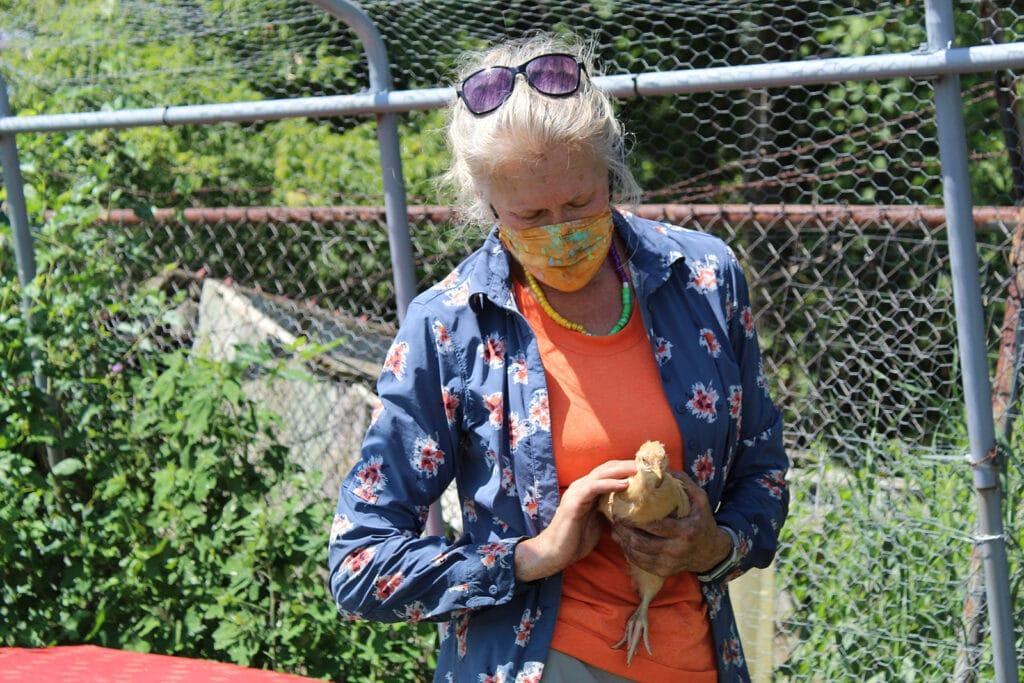 Unity Gardens executive director Sara Stewart