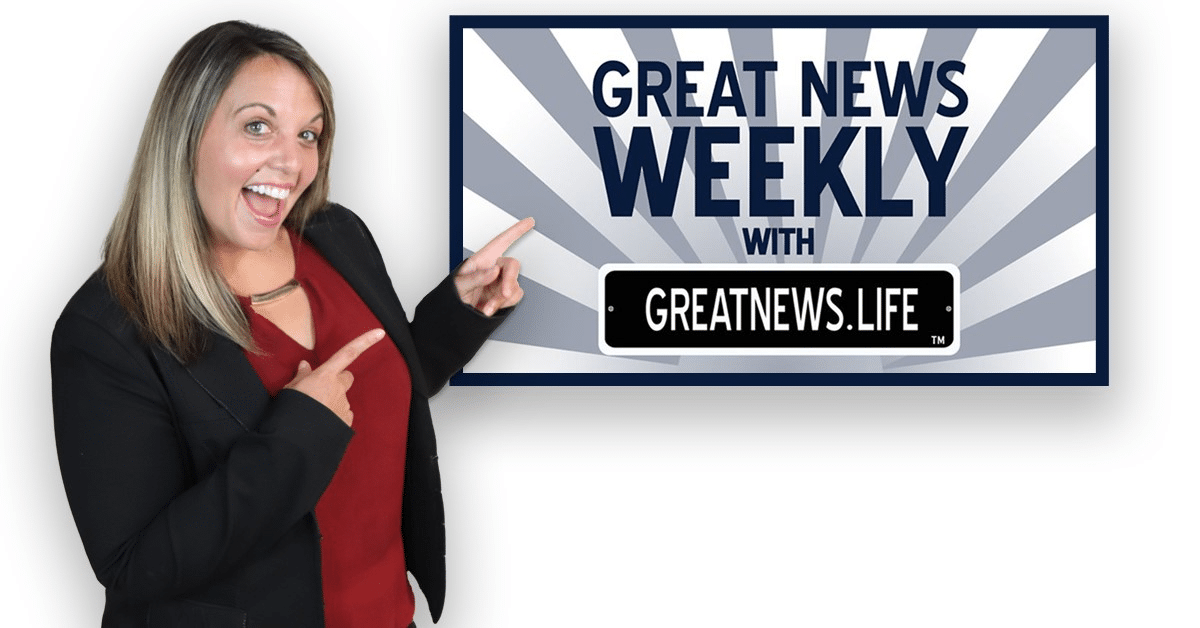 Great News Weekly podcast expands to additional platforms, grows positive impact with 20th weekly show
