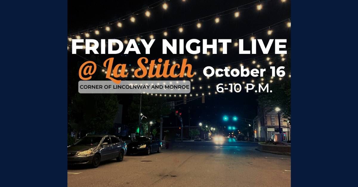 First-ever Friday Night Live event at La Stitch postponed following uptick in COVID-19 cases