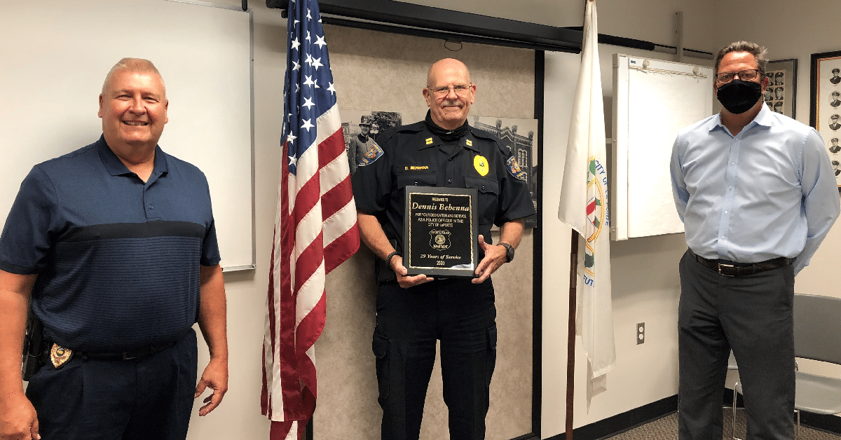 City of La Porte police captain retires after nearly 30 years