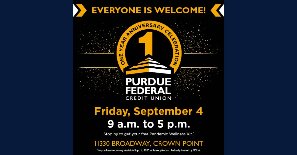 Purdue Federal Credit Union celebrates one year in Crown Point