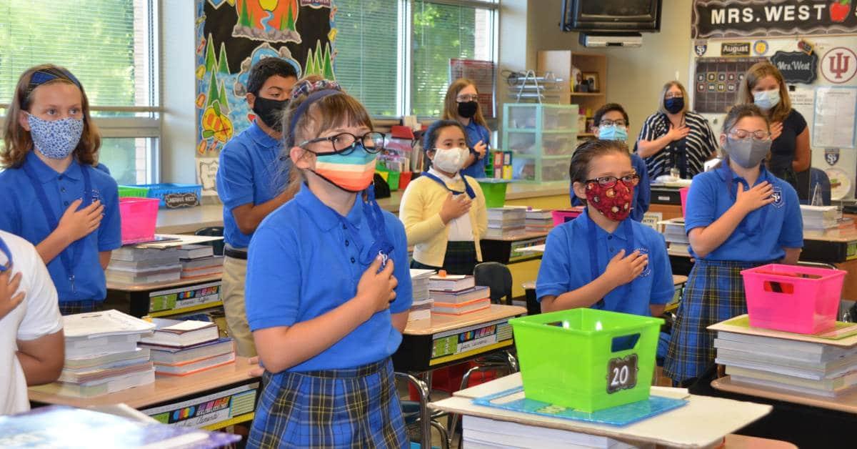 Saint Paul Catholic School goes above and beyond to keep returning students safe