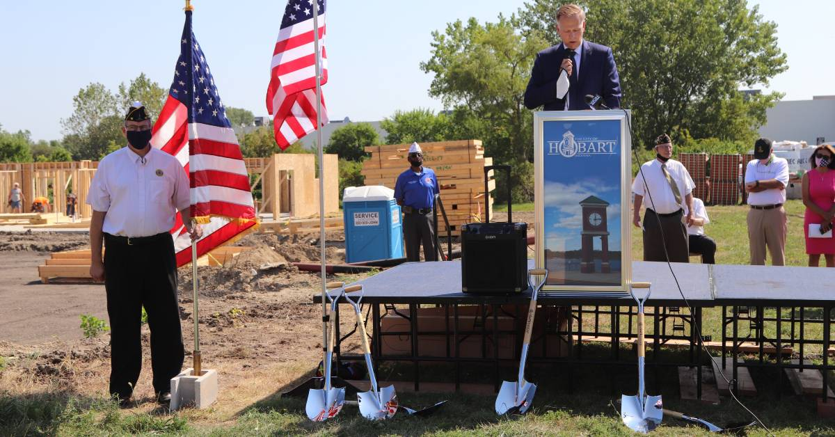 A Safe Haven Foundation breaks ground on new Veteran subsidized housing property