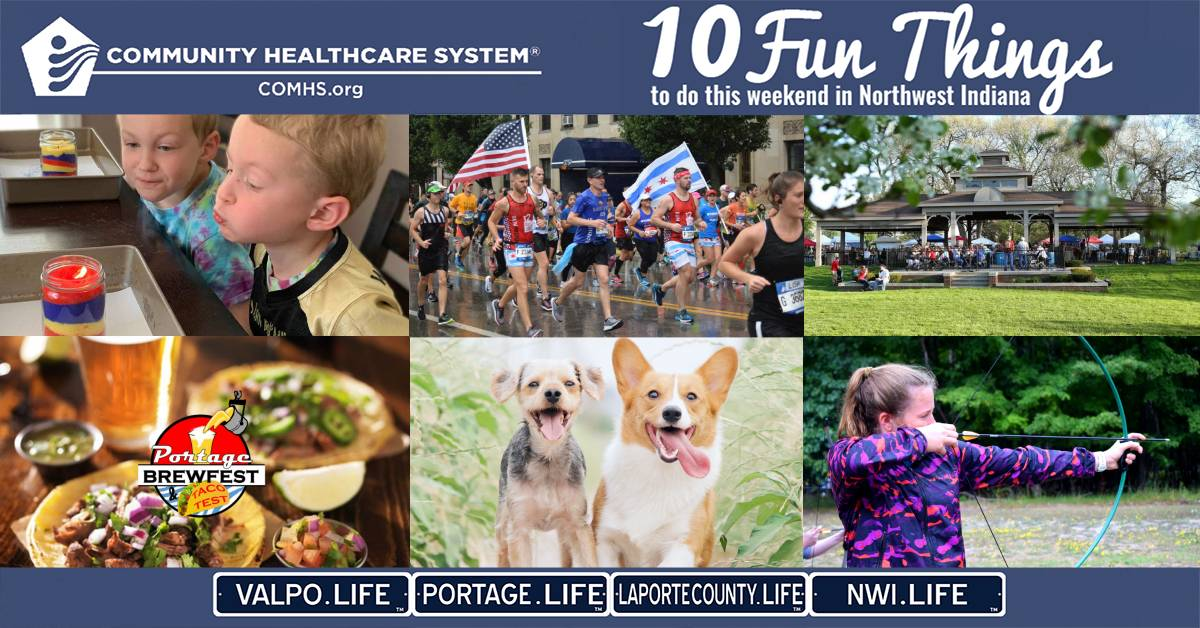 10 Fun Things to do in Northwest Indiana this weekend, September 18-20