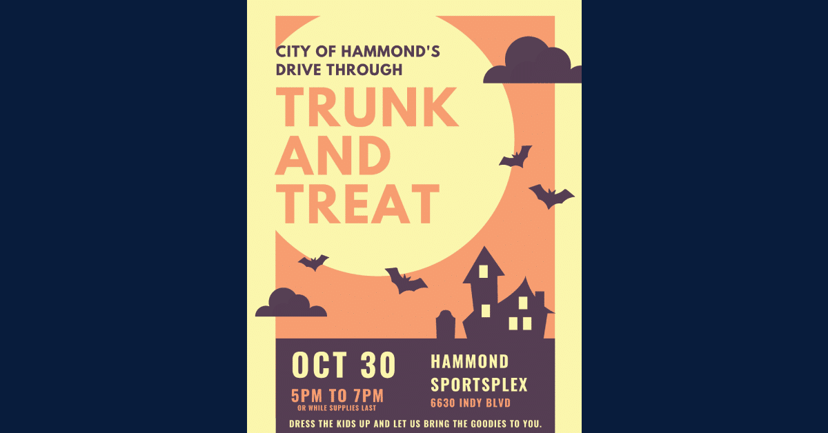 Trunk or treat in Hammond