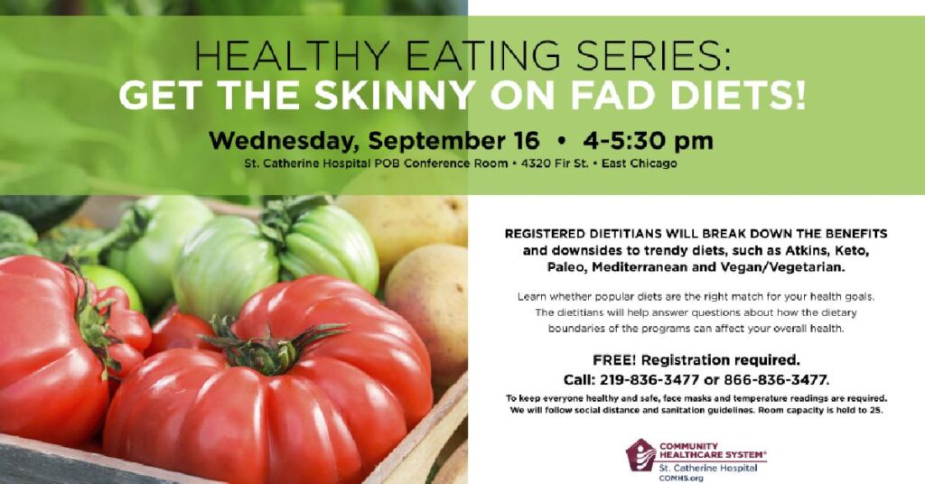 Get the skinny on fad diets
