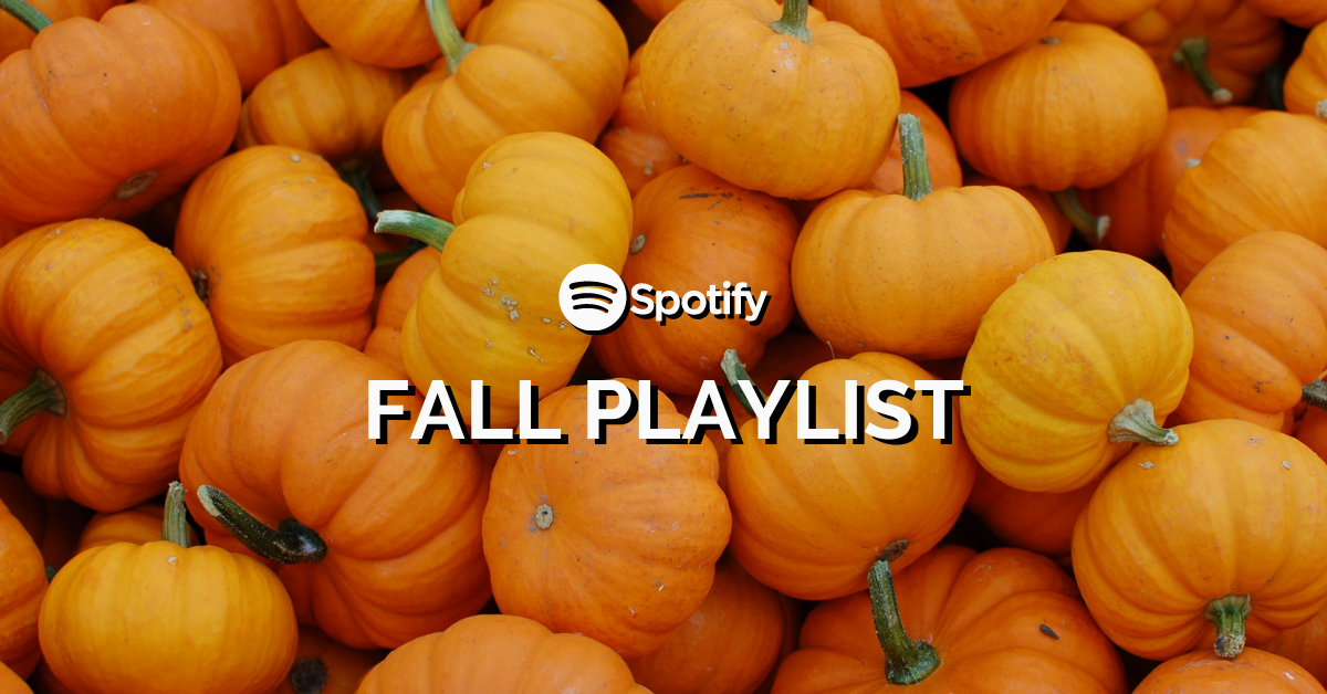 Fall in love with some new music with our autumn playlist