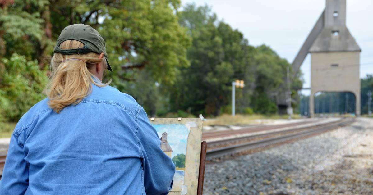Horizon Bank draws community support at First Brush of Fall