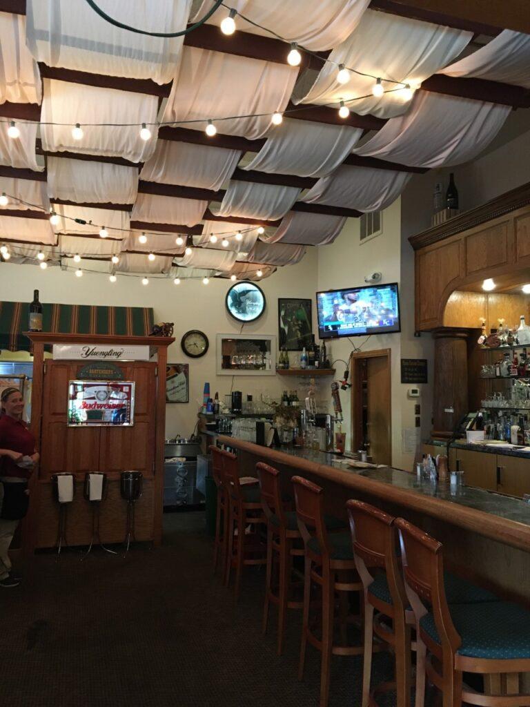 Bar area at Portofino's Grille