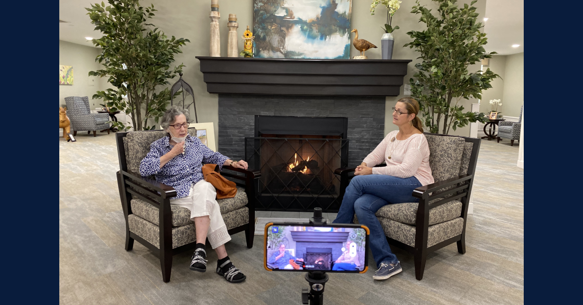 StoryPoint Chesterton creates daily internal news show for residents