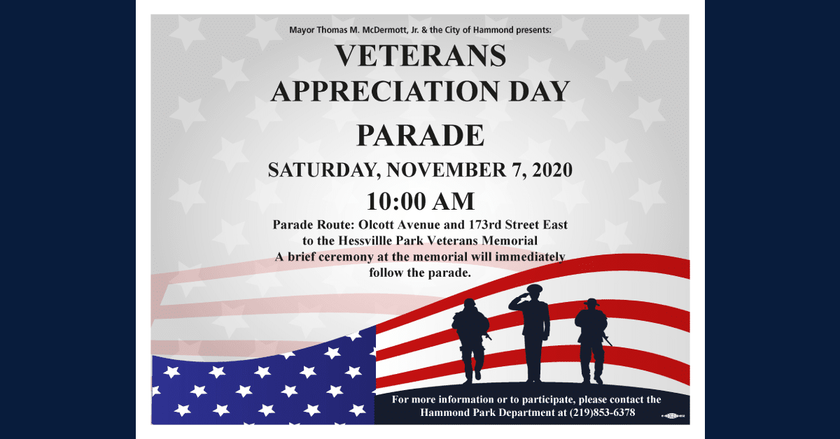 Hammond celebrates 7th annual Veterans Appreciation Day Parade