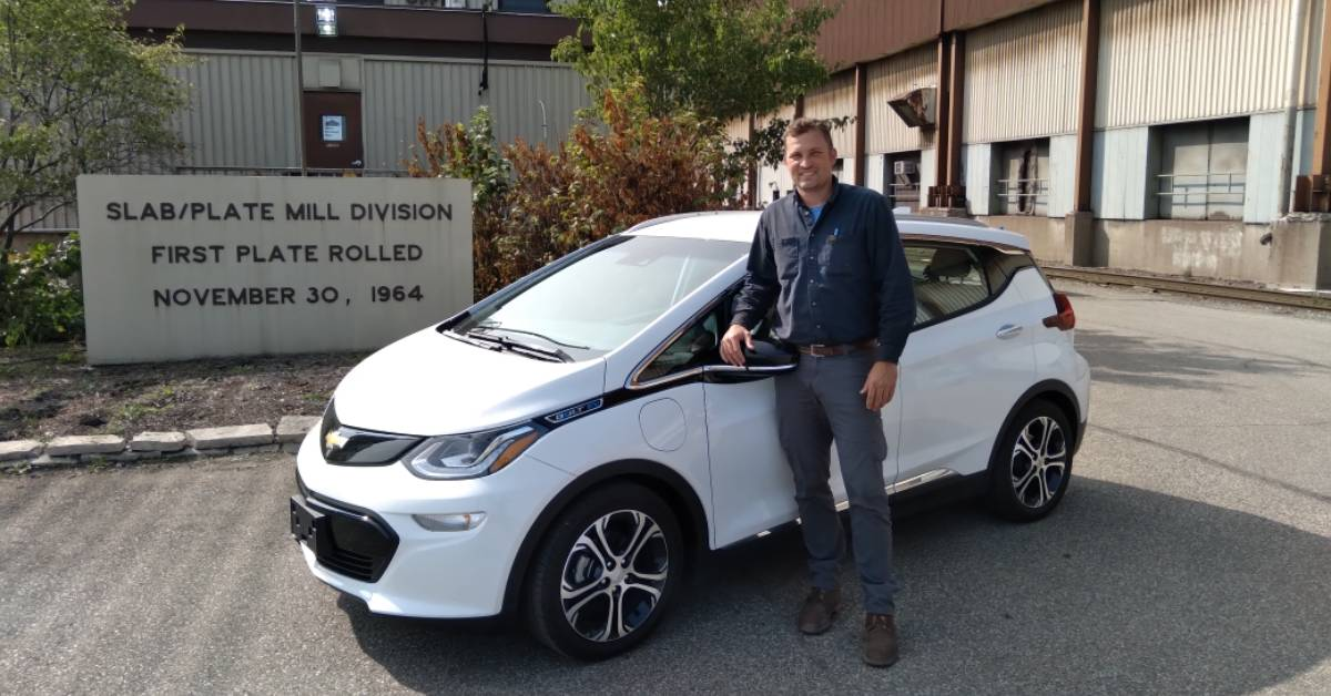 ArcelorMittal Burns Harbor employees demonstrate that the future of mobility is electric