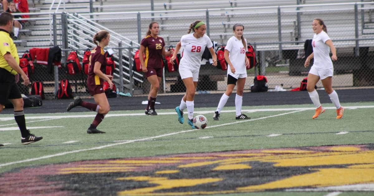 Chesterton Trojans defeat Crown Point Bulldogs 4-3 after penalty shootout in key girls' soccer matchup