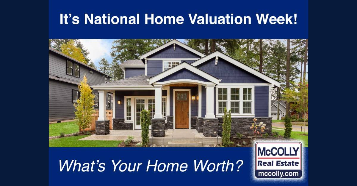 September 21 – 25 is National Home Valuation Week