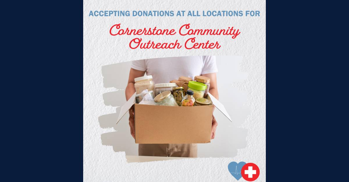 Midwest Express Clinic accepting donations for Cornerstone Community Outreach Center