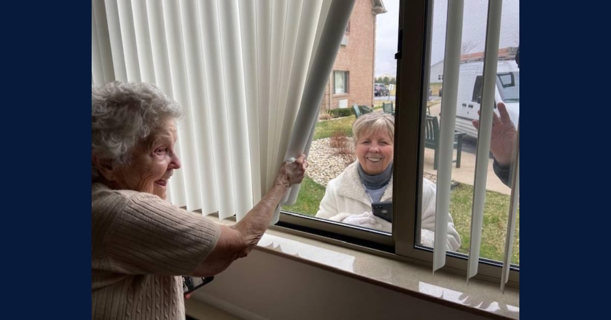 Seniors living at Rittenhouse Village at Portage thrive despite pandemic