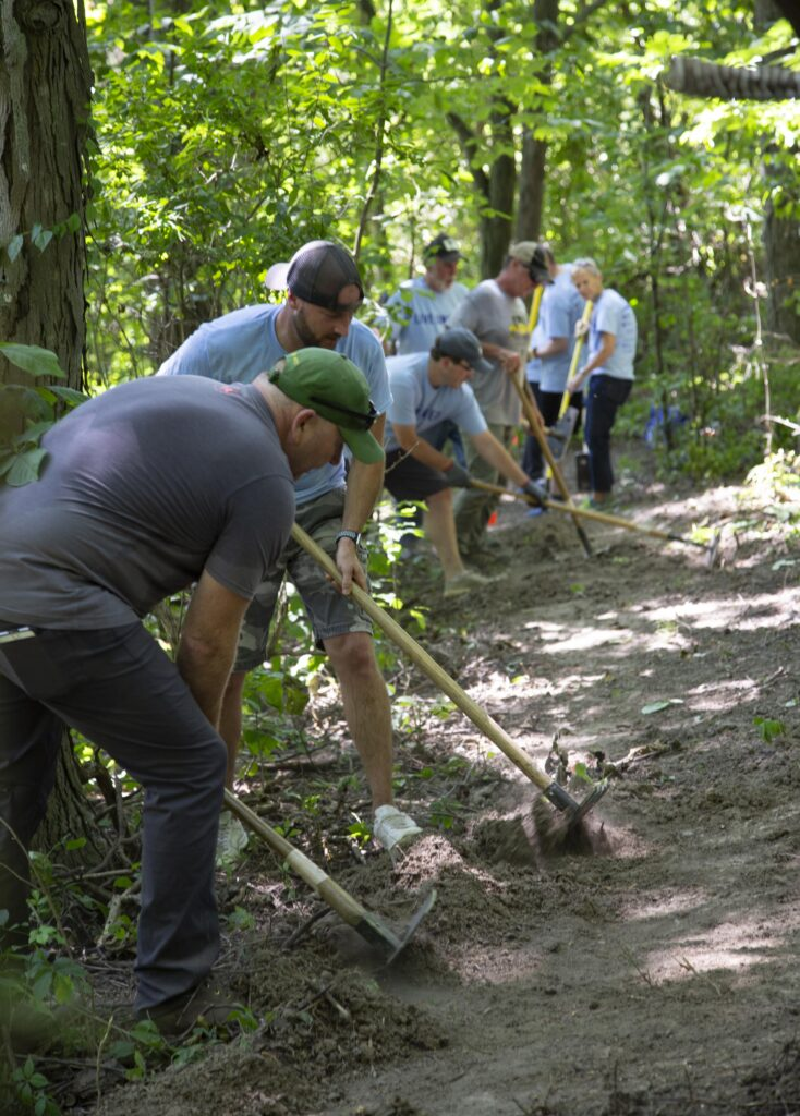Valpo Parks volunteering