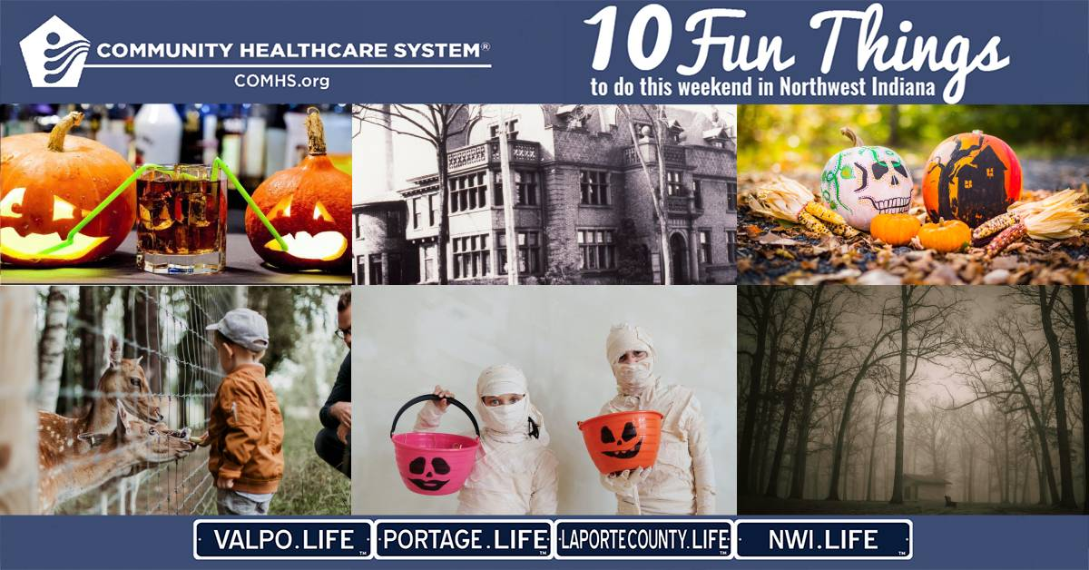 10 Fun Things to do in Northwest Indiana this weekend, October 23-25