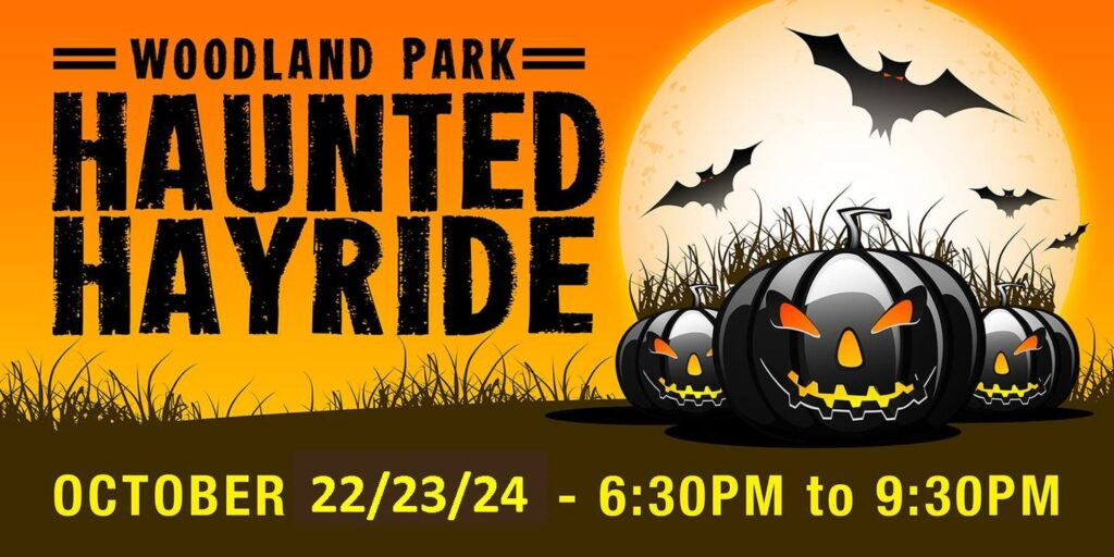 woodland park haunted hay ride