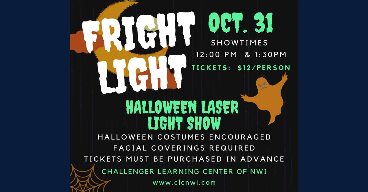 Fright Lights Halloween Laser Show