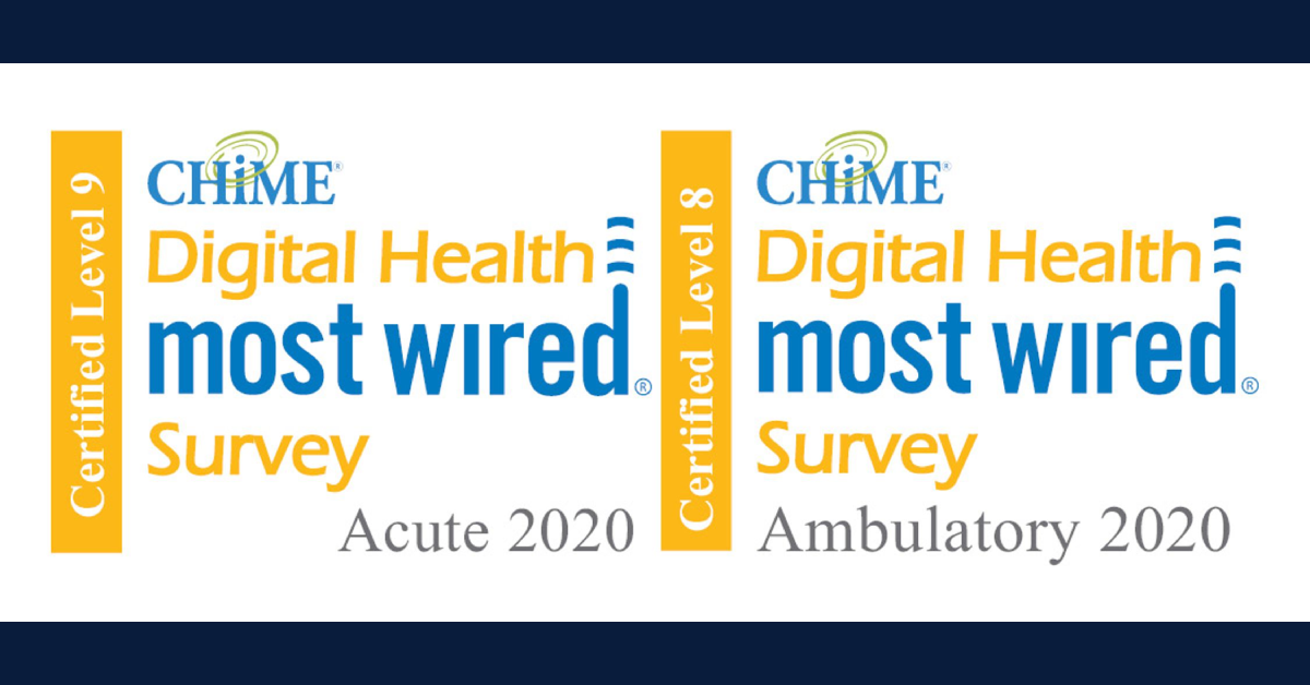 Hospitals of Community Healthcare System earn 2020 Chime Digital Health Most Wired recognition