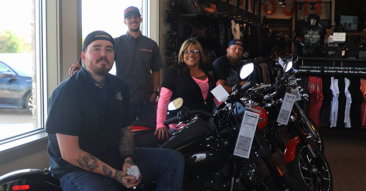 Harley-Davidson of Valparaiso, Michigan City welcome new team members