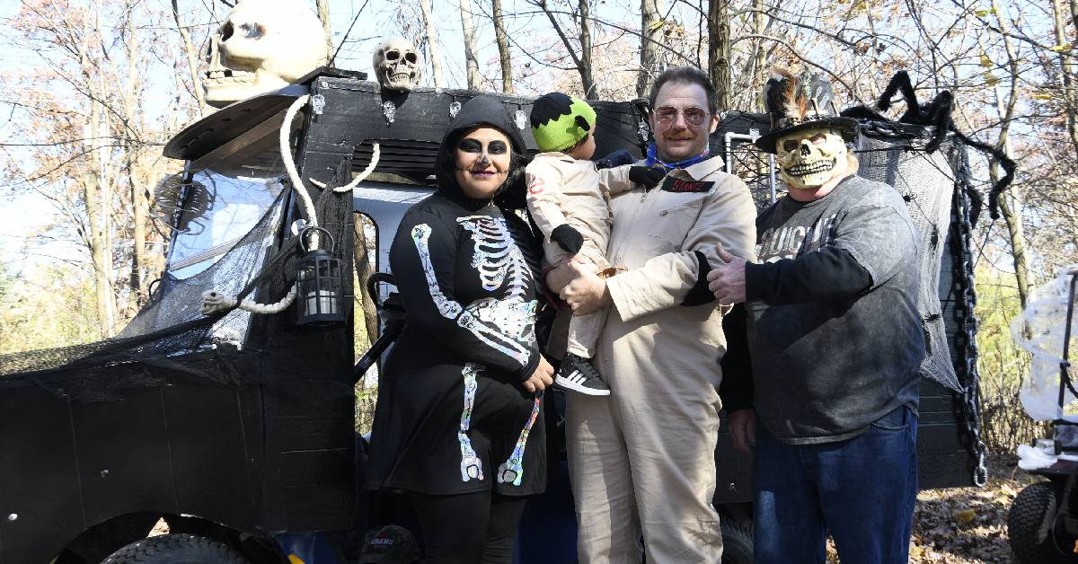 City of Hobart hosts Halloween Golf Cart Parade for community, spookiness ensues