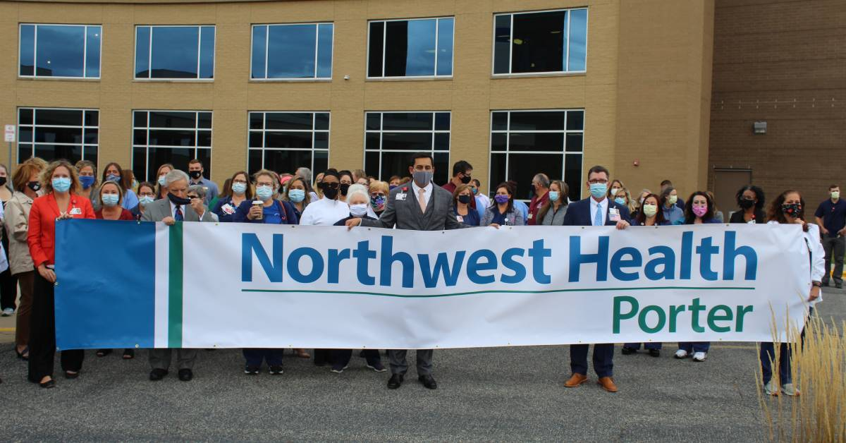 Porter Regional Hospital is now Northwest Health – unifying three hospitals under one name
