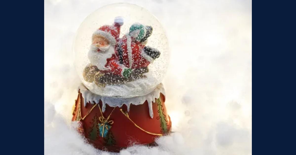 Holiday Snow Globe Make and Shake