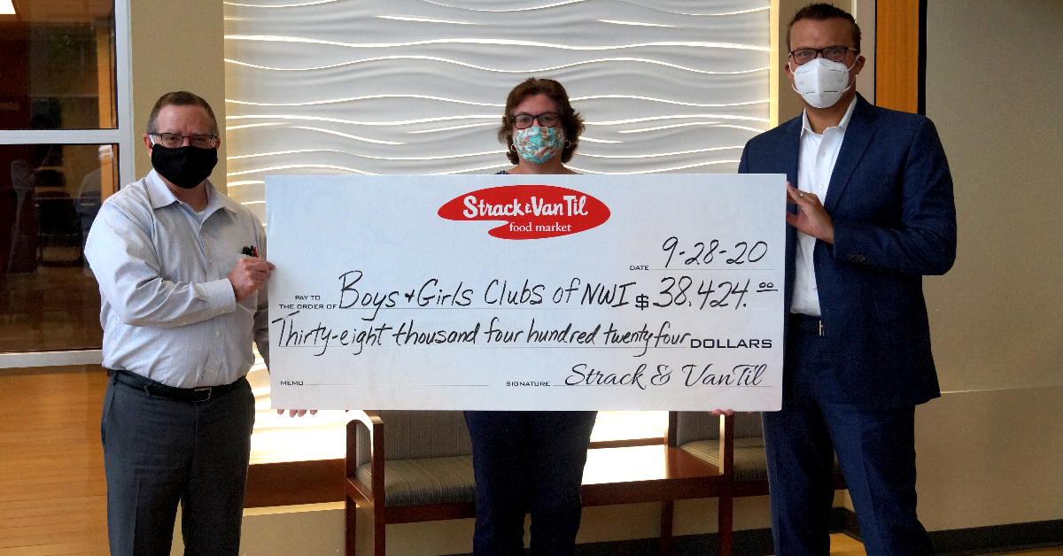 Strack & Van Til Donates $38,000 to Boys & Girls Clubs