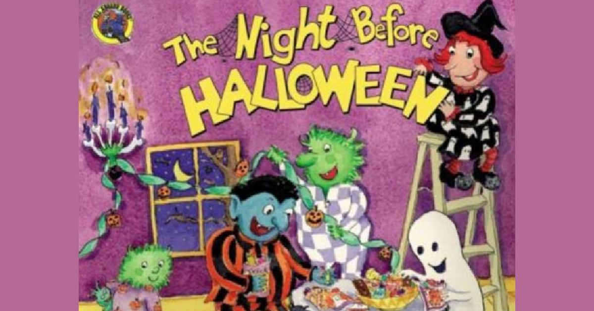 Tiny Mascot Storytime: Twas the Night Before Halloween with Glitch Witch